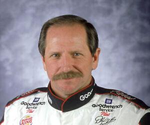 NASCAR SUPERSTARS DALE EARNHARDT SR.  8X10 PHOTO W/BORDERS