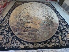 WOW FANTASTIC PERSIAN TRADITIONAL SAROUK 10X13 FT ORIENTAL RUG, CARPET