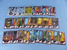 COLLECTOR MADAGASCAR 3 , lot complet de 90 stickers autocollants CORA MATCH