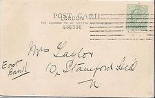 Genealogy Postcard - Family History - Taylor - East Bank - London N    BX407