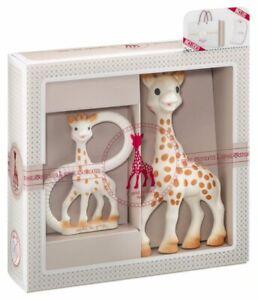 Sophie La Girafe Birth Set 000001 Giraffe mit Beißring Geschenkset Babyset
