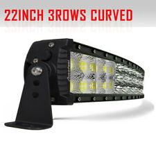 """Autofeel 24 inch 23"""" Curved Led Light Bar Combo Flood Spot 20 22"""" Offroad Truck"""
