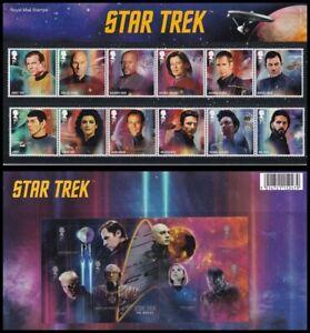 2020 GB Star Trek Royal Mail Presentation Pack No.594