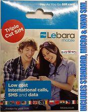 Lebara Gold Mobile Phone SIM Cards
