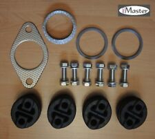 Mazda 6 GH MZR CD EXHAUST FITTING REPAIR KIT RUBBER CLAMP GASKET HANGER SILENCER