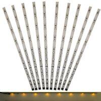 S672 - 10 Stück LED Innenbeleuchtung 230mm gelb Waggonbeleuchtung für Waggons