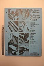 #J45 1985 Nicholson Wiss Boker Plumb COOPER TOOLS Hardware Price List HI385