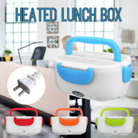 40W EU/US/Car Plug Portable Electric Heating Lunch Box Bento Food Warmer