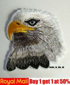 White Eagle Logo Iron On / Sew On Patch Badge , Marvel Comics