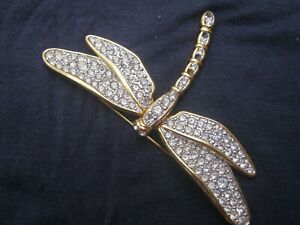 VINTAGE GOLD AND MARQUISETTE BROOCH