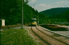 Railway Tram Color Slide Strassenbahn Germany , Karlruhe B 4