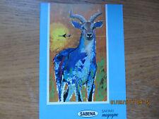 Revue Sabena Magazine Safari sans date
