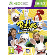 Pal version Microsoft Xbox 360 Rabbids Invasion