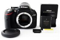 Nikon D5200 24.1MP Digital SLR Camera Black Body ONLY From Japan