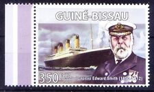 Guinee MNH, Edward Smith, Captain of Titanic, Ships, English Naval officer - NL3