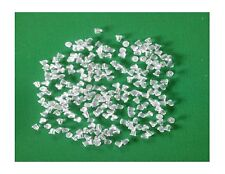 100 CLEAR RUBBER 4MM BULLET CLUTCH EARRING POST SAFETY BACKS - US SELLER