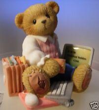 "CHERISHED TEDDIES   ""COREY"" 676942 NEW WITH BOX & CERTIFICATE"