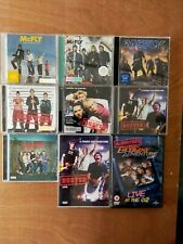 McFLY, Busted, McBusted, CDs X 7 & 2 DVDs