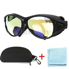 7 Laser Protective Goggles+CO2 10600nm OD Double-Layer Safety Glasses Eyewear US