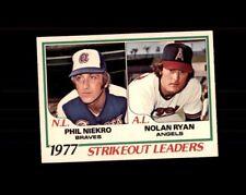 1978 O-Pee-Chee #6 Nolan Ryan NM