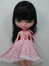Big Head Blythe Clone 4 Color Changing Eyes Basaak Doll - black hair 1