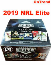 2019 RUGBY LEAGUE NRL ELITE Trading Cards Sealed Box 24 Packs FREE POST IN STOCK