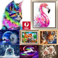 5D Diamond Embroidery Painting DIY Animal Art Stitch Craft Kit Cross Home Decor