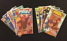 PAUL THE SAMURAI #1 - 10 Comic Books FULL SET Ben Edlund TICK Spin-Off NEC 1992