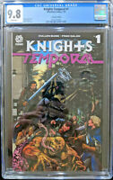 Knights Temporal #1 Lenticular Variant Cover 1 in 25 CGC 9.8 Aftershock Comics