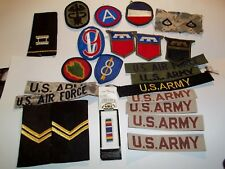 Miscellaneous Lot of Military Surplus Patches Army Air Force