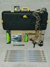 """Loaded Hoyt Pro Defiant Bow Package- 28 to 30"""" - 60 to 70 lb- Realtree Camo"""