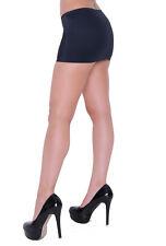 Mini Skirt 14-16 Black Micro Stretch Bodycon Spandex Short Sexy Club Party CS2