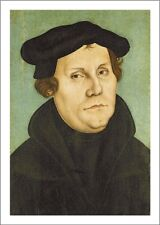 Martin Luther Reformation Postcard