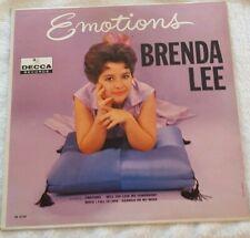 BRENDA LEE EMOTIONS ORIG DECCA  DL-4104 LP VINYL RECORD