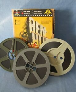 SUPER-8-FILM BEN - HUR CINEMASCOPE !! MGM 360 METER CHARLES HESTON BOYD HAWKINS