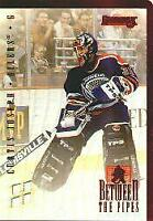 1996-97 Donruss Between the Pipes #8 Curtis Joseph /4000 - NM-MT