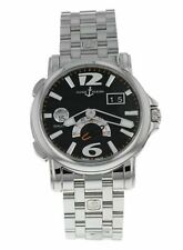 Ulysse Nardin Dual Time 42mm Automatic Men's Stainless Steel Watch 243-55-7/62
