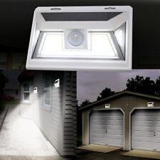 Solar Power LED PIR Motion Sensor Light 10w Waterproof Outdoor Garden Wall Lamp