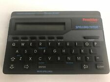 Franklin Spelling Tutor W/ Spellblaster Model Es-100 Tested Merriam Webster Vtg
