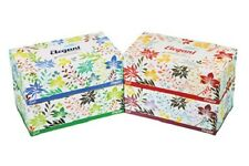 Facial Tissue Elegant White 160 Sheet 2-Ply softer tissue Bx of 6 Pcs Made in US