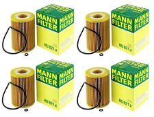 Set of 4 Engine Oil Filter Mann For Mercedes W211 W164 X164 W251 V212 S212 C207