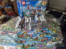 LEGO  60174 City Mountain Police Headquarters Box Set & (60170,1,2,3) Boxed!