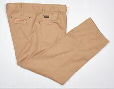 RM WILLIAMS STOCKYARD Pants 46x31 in Sand Beige Denim EASY CARE RINGER