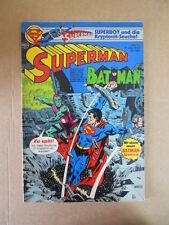 SUPERMAN & BATMAN #11 1978 EHAPA Dc Comics  - DEUTSCH  [G471]