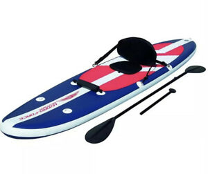 Bestway HydroForce 11' LONG TAIL Inflatable Stand up Paddle Board Kayak Backpack