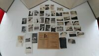 41 Vintage Photos w/ Negatives & Envelpoe  1920s 1930s! Cunningham Drug Store!