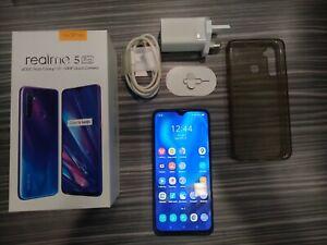Realme 5 Pro 8GB RAM 128GB ROM Factory Unlocked Smartphone -  Sparkling Blue
