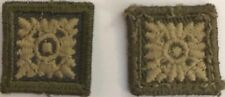 Canadian Military Cloth Combat Shoulder Rank Pips 2 pcs,  #4943