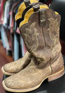 Tin Haul Boots Men's Million Dollar Check Size 12D
