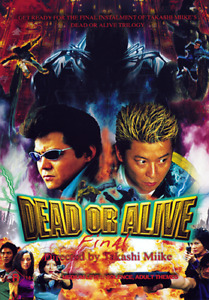 Takashi Miike DEAD OR ALIVE 3 - GRAPHIC VIOLENCE GANGSTER CRIME DVD (NEW/SEALED)